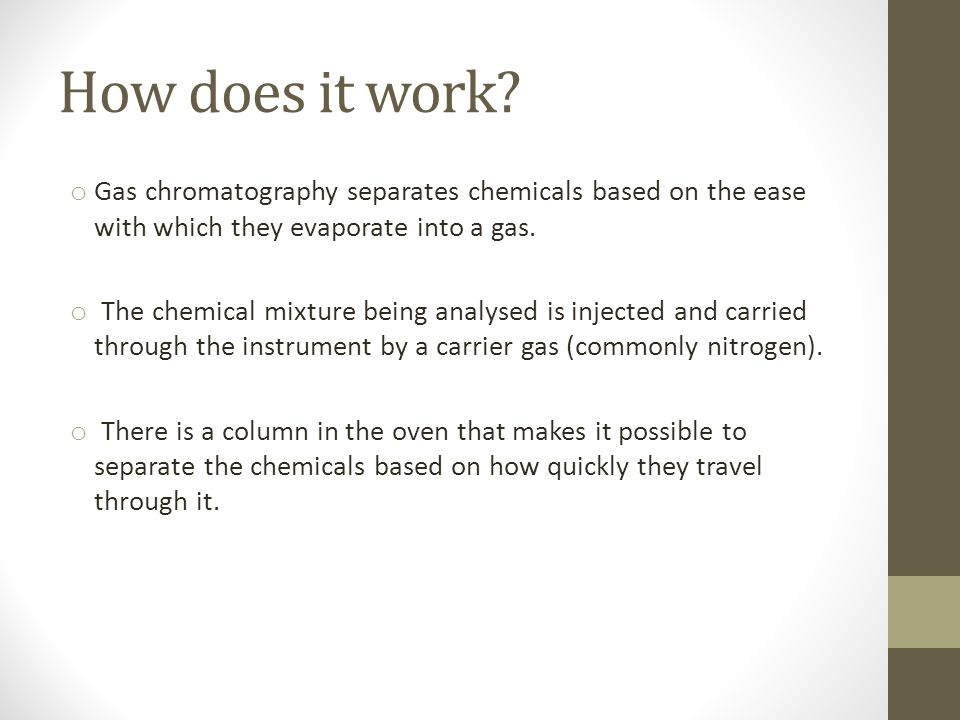 Gas Chromatography & Gas-Liquid Chromatography - ppt video