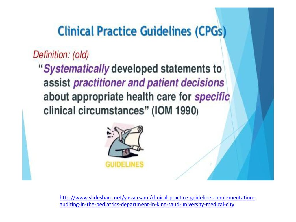 Tutorial lecture for the guideline presentation assignment