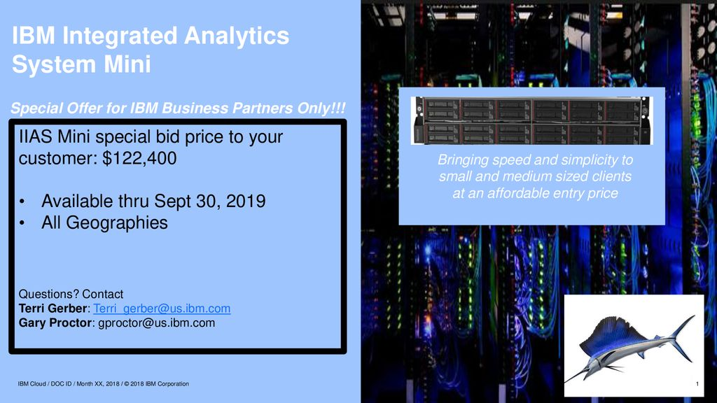 IBM Integrated Analytics System Mini - ppt download