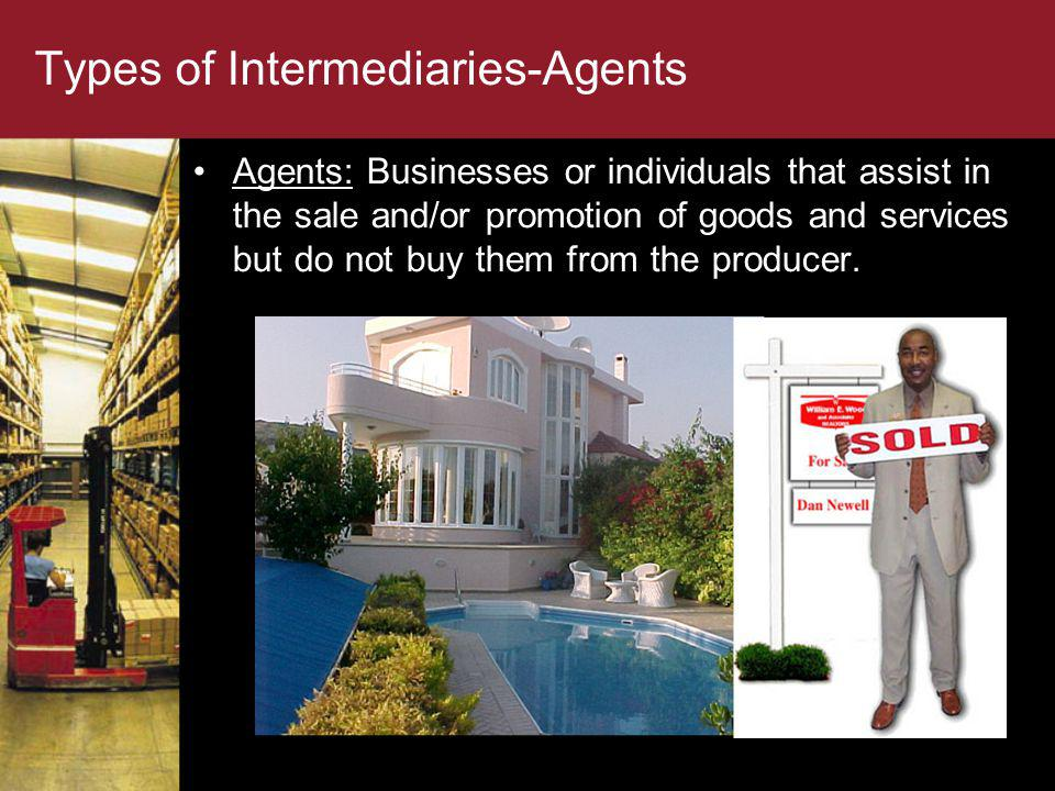 Types of Intermediaries-Agents
