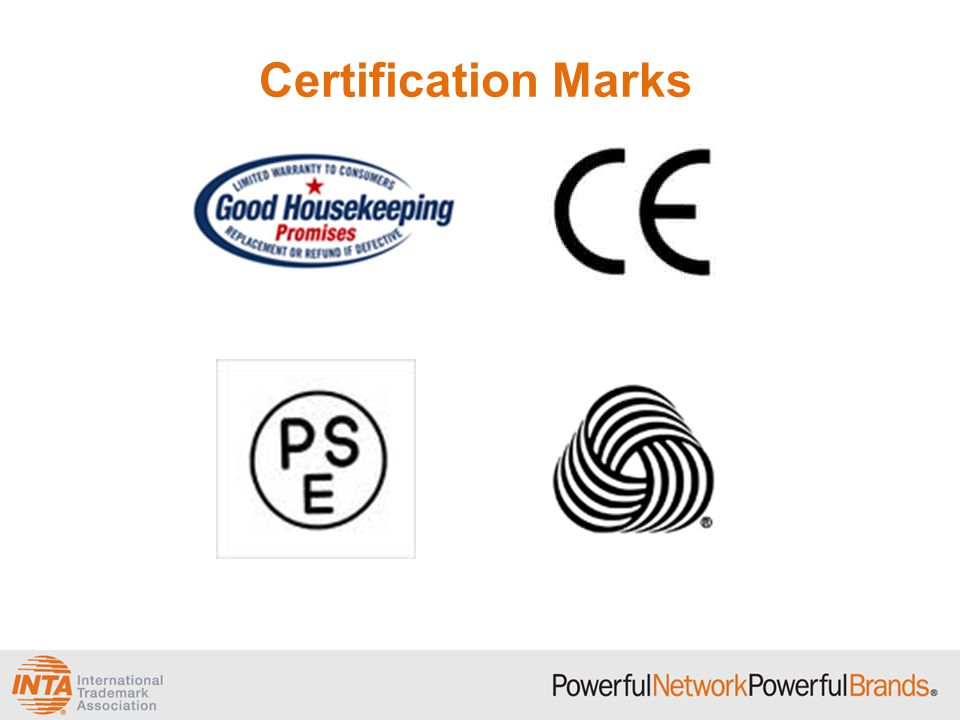 Collective Marks and Certification Marks - ppt video online download