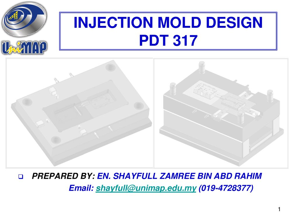 INJECTION MOLD DESIGN PDT ppt download