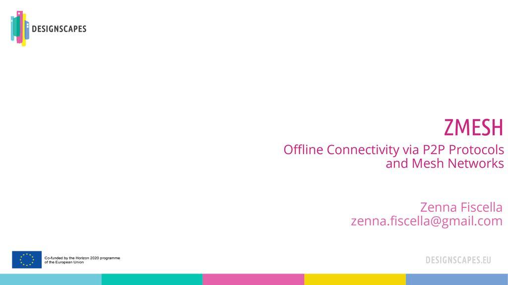yksinoikeudella virallinen toimittaja uusi tyyli Offline Connectivity via P2P Protocols and Mesh Networks ...