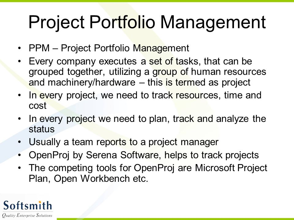 Project Scheduling Using OpenProj  - ppt video online download