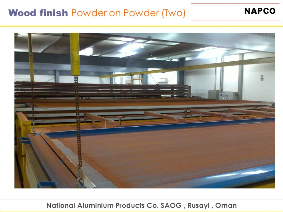 National Aluminium Products Co  SAOG , Rusayl , Oman - ppt video