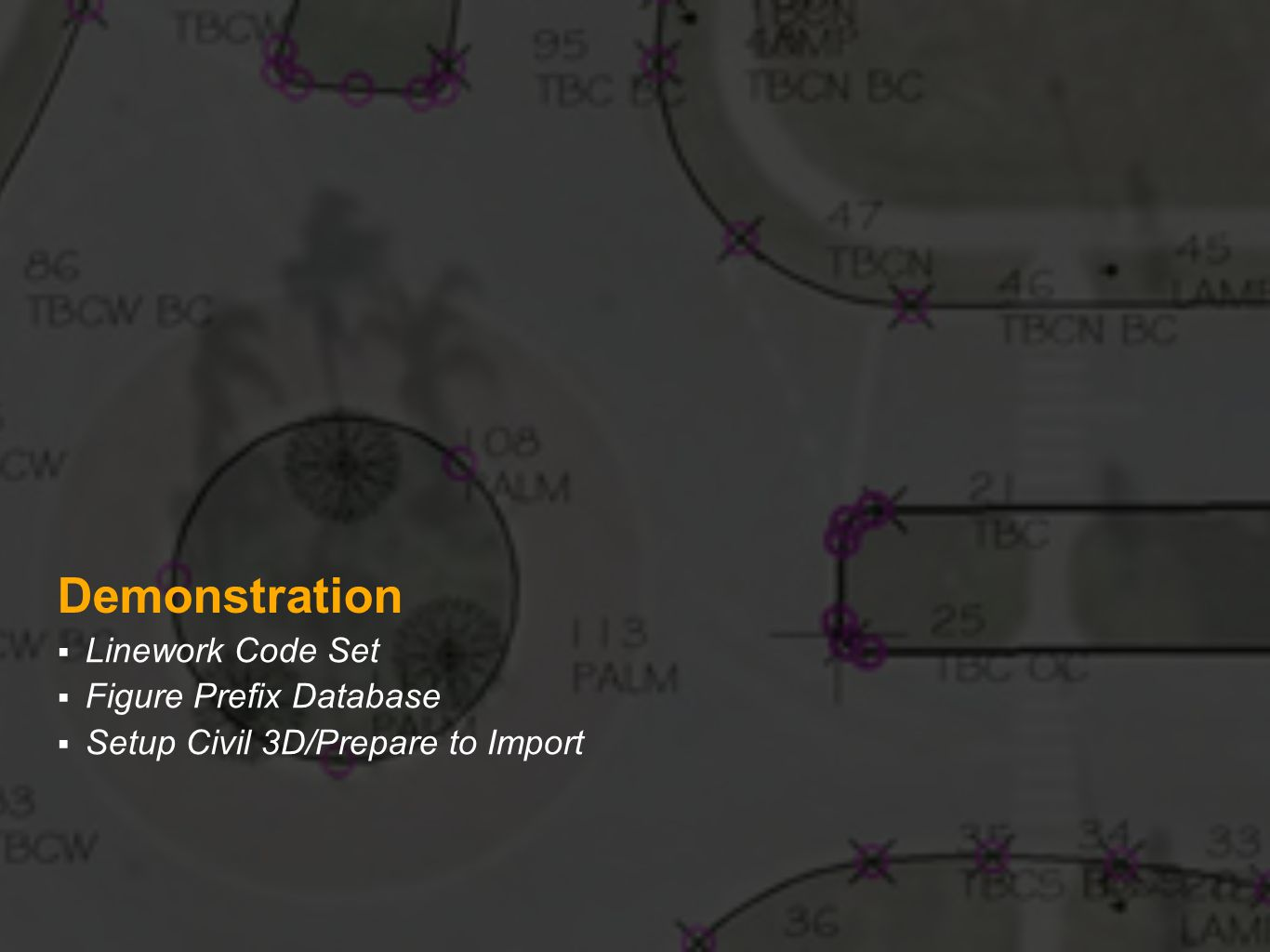 """Field to Finish"""" Working with AutoCAD Civil 3D - ppt video online"""
