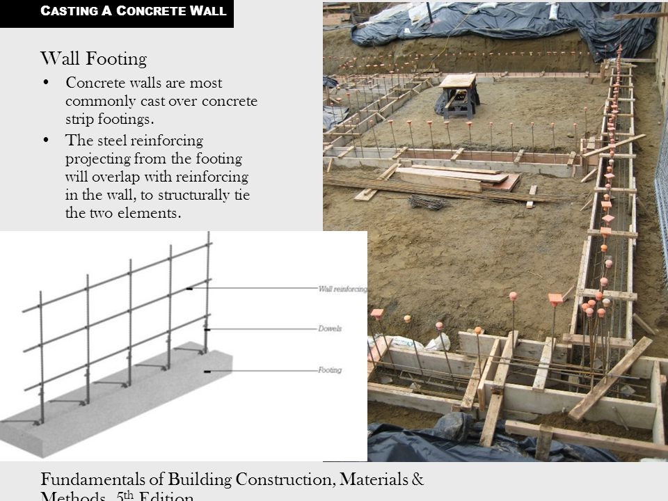 CASTING A CONCRETE WALL - ppt video online download