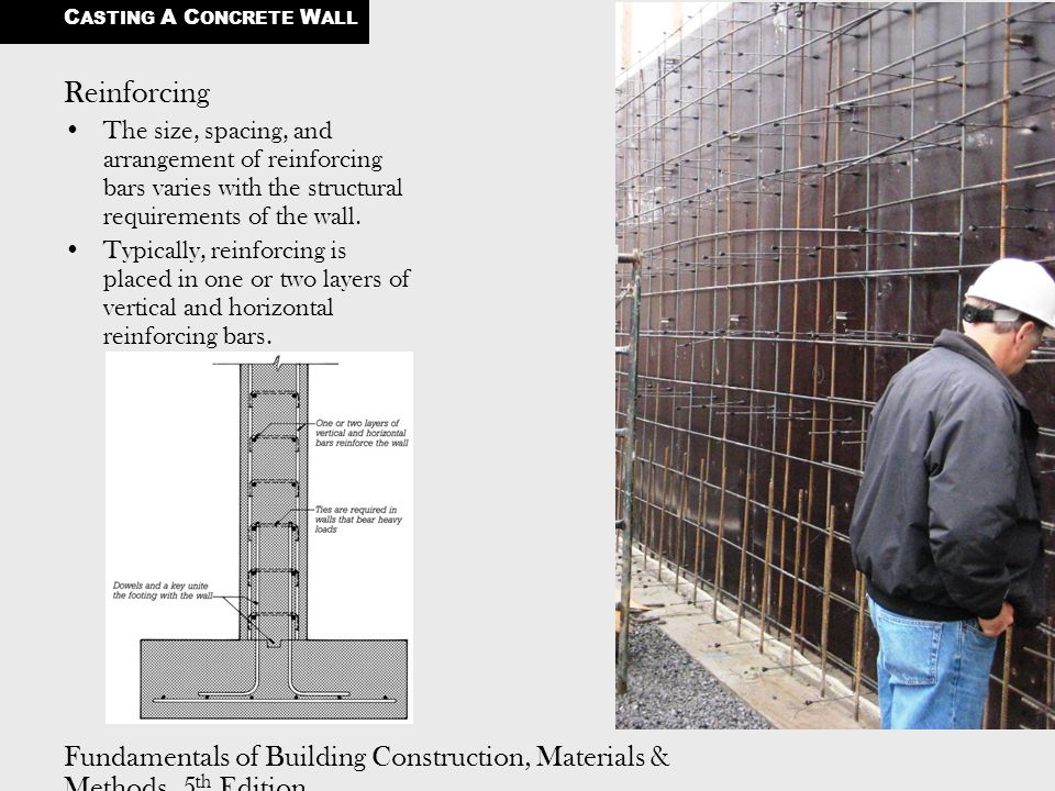 Casting A Concrete Wall Ppt Video Online Download