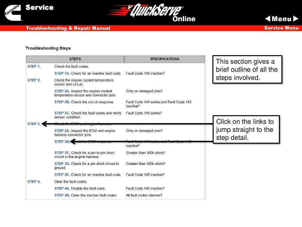 QuickServe Online Training - ppt download
