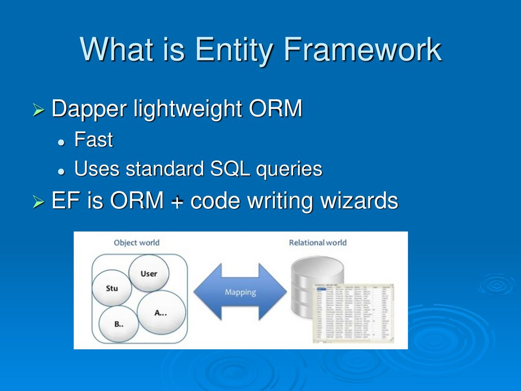Entity Framework & LINQ (Language Integrated Query) - ppt