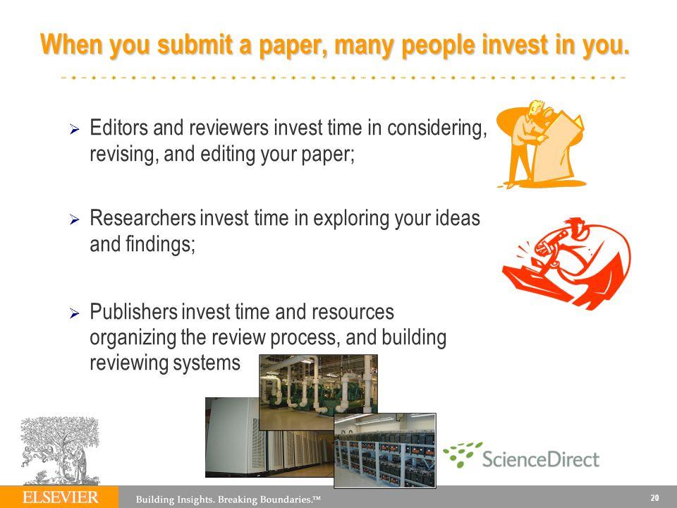 Elsevier Author Workshop  Template - ppt download