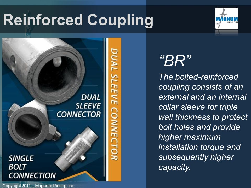 Reinforced Coupling BR
