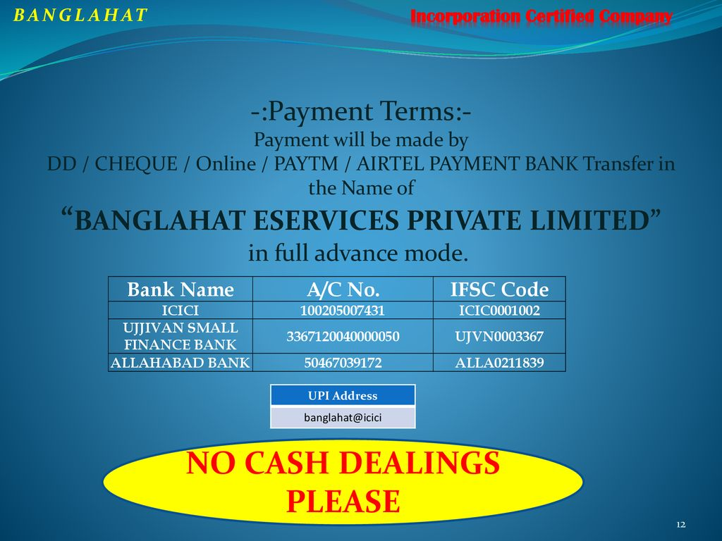 BANGLAHAT E-SERVICES Pvt  Ltd - ppt download