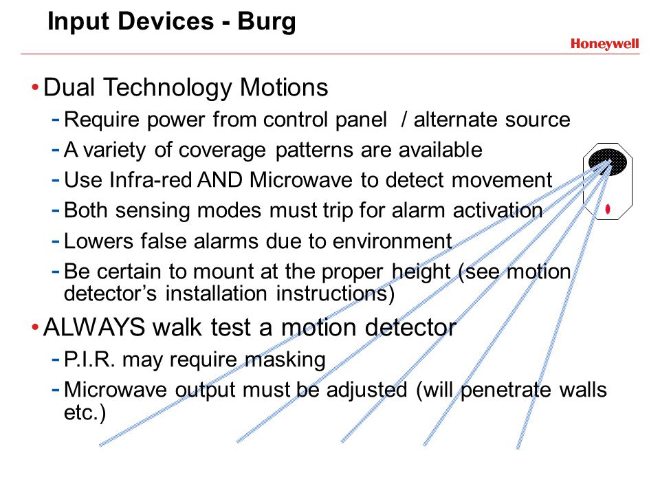 Dual Technology Motions
