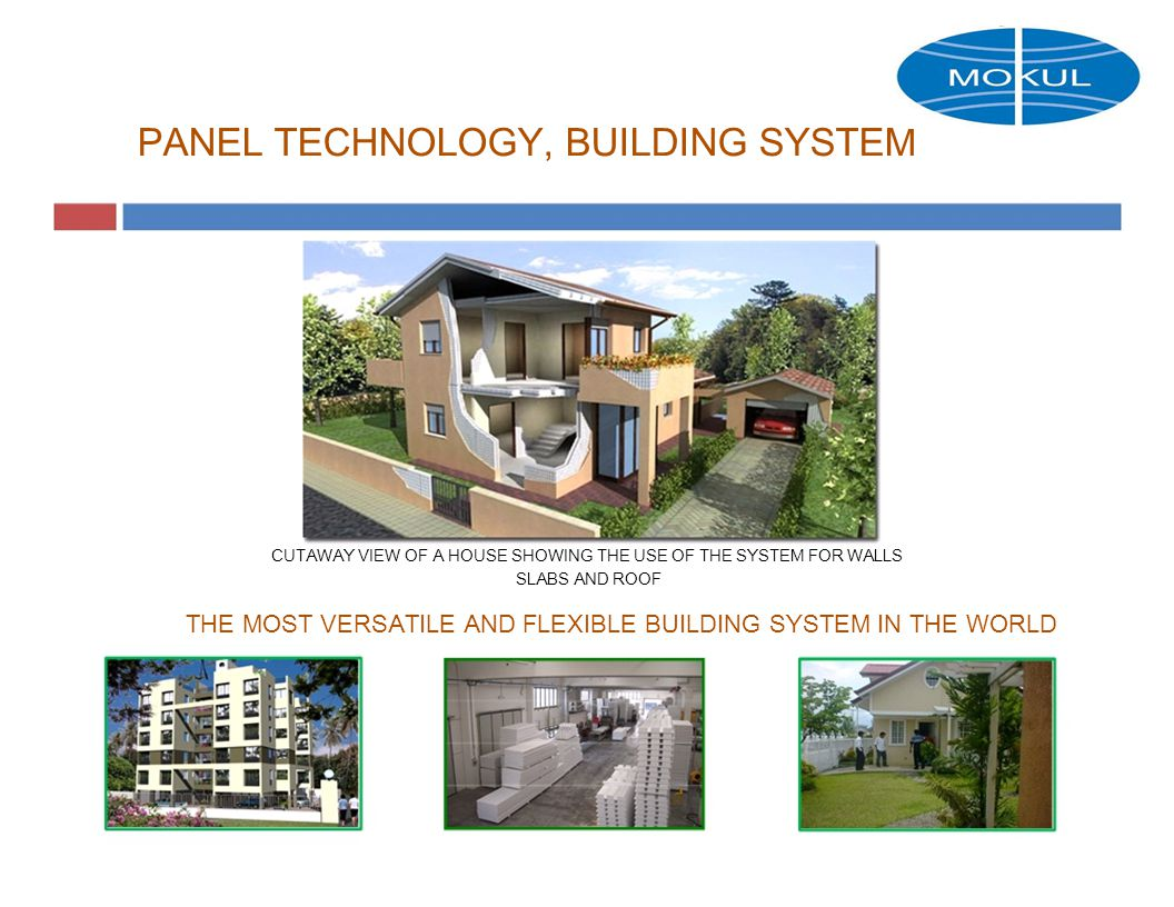 The technology of building a panel house 47