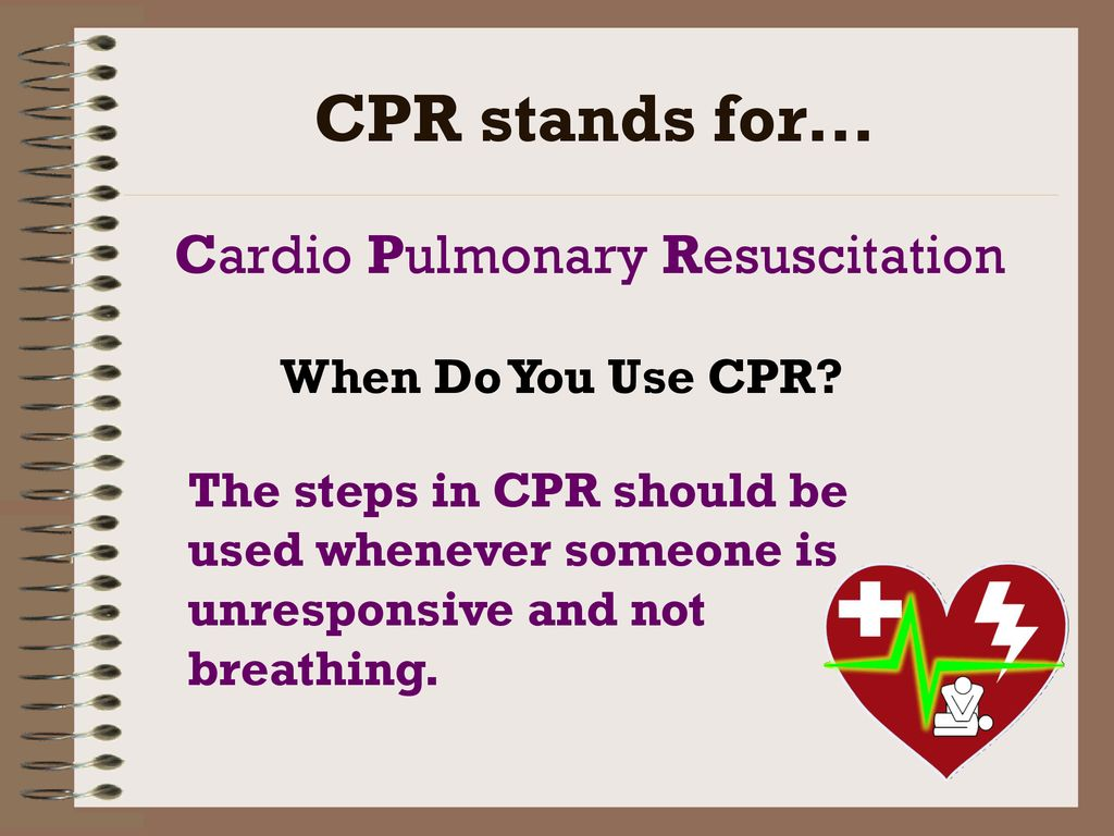 CPR & AED  - ppt download