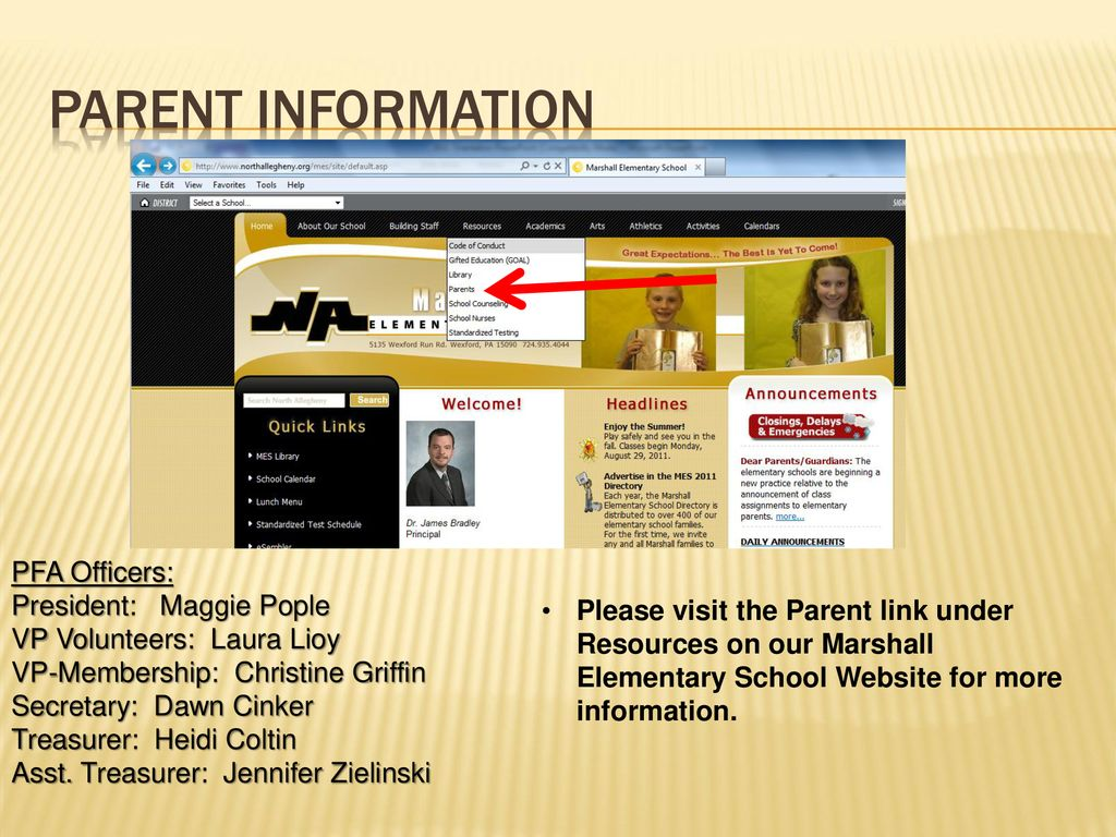 Welcome to Marshall Elementary School - ppt download
