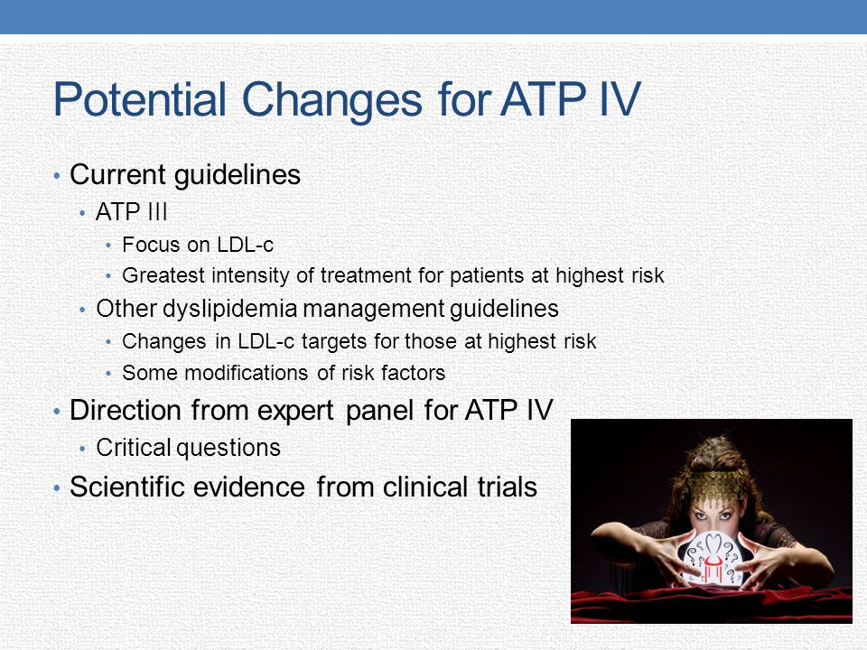Potential Changes for ATP IV