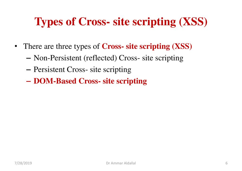 Exploring DOM-Based Cross Site Attacks - ppt download