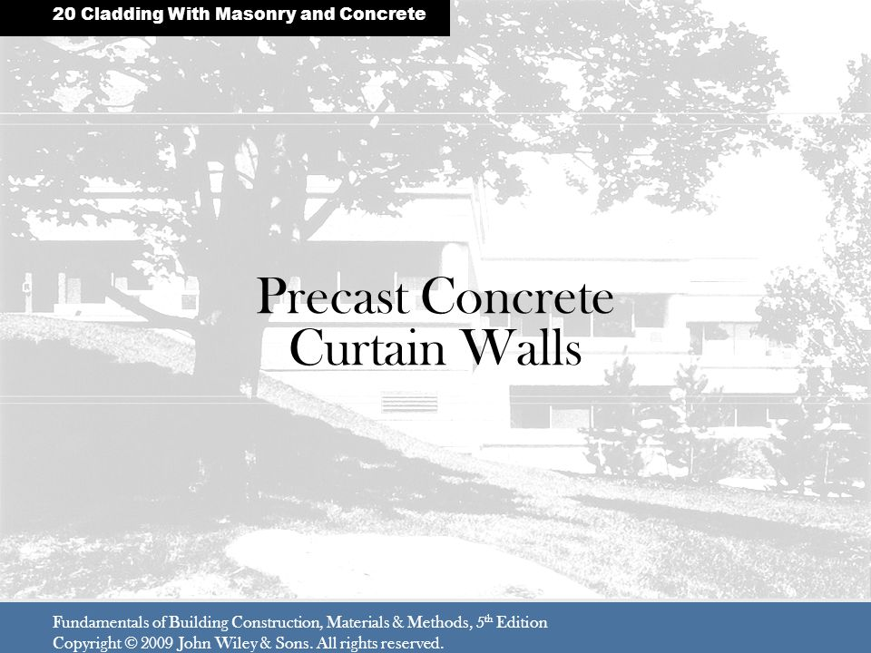 Precast Concrete Curtain Walls