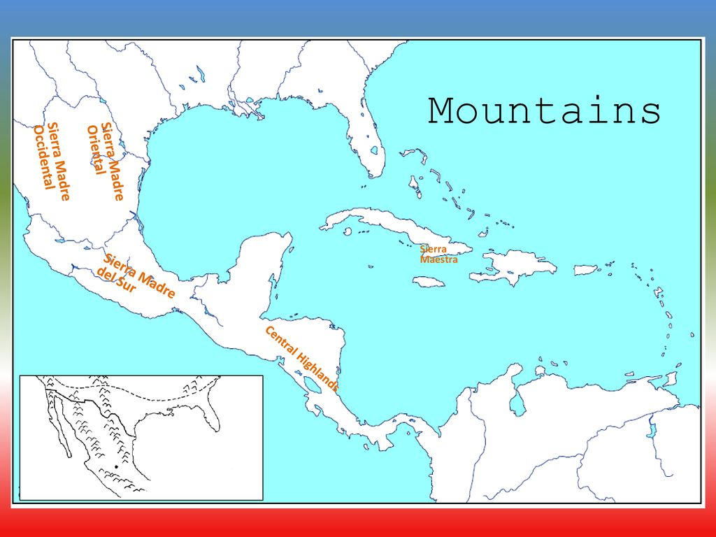 Image of: Physical Geography Of Central America Ppt Download