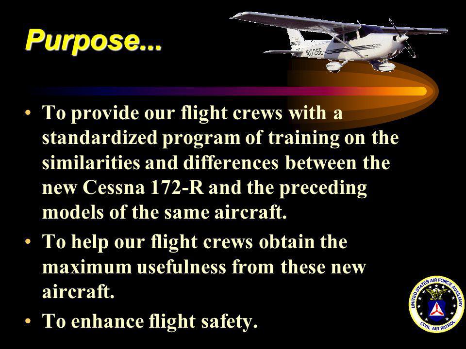 CESSNA 172-R Pilot and Flight Crew Familiarization - ppt video