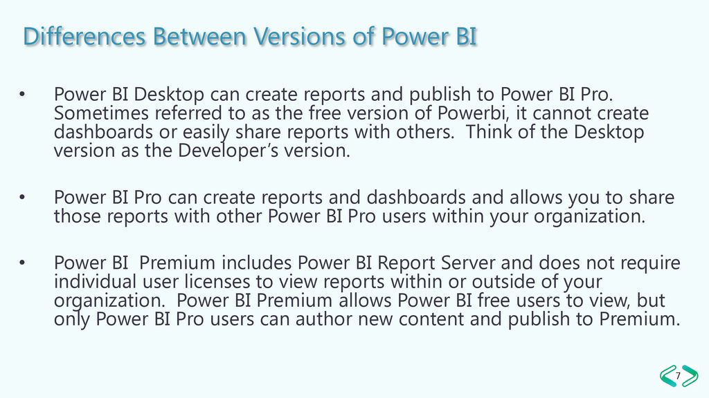 Creating Reports and Dashboards with Power BI - ppt download