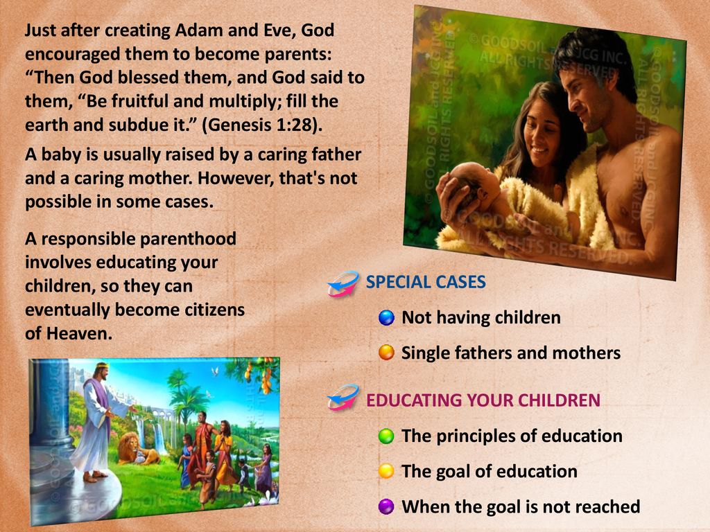 SEASON OF PARENTING Lesson 8 for May 25, ppt download