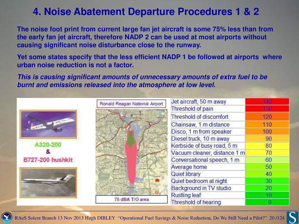 Operational Fuel Savings and Noise Reduction – - ppt download