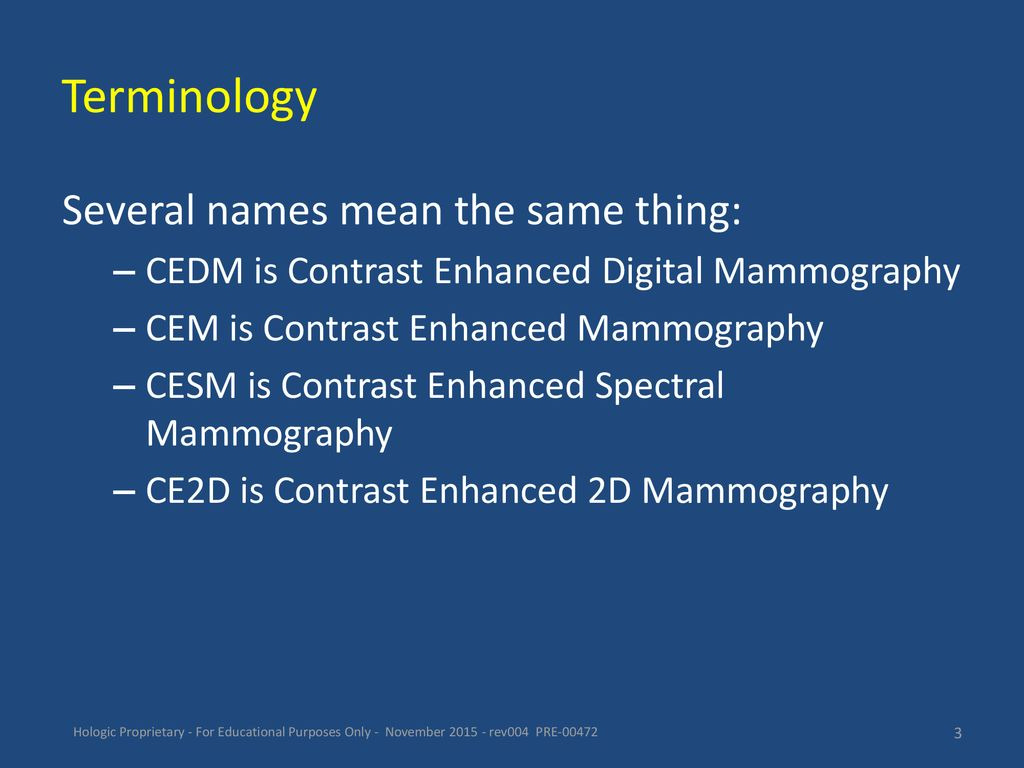 Contrast Enhanced 2D Mammography - ppt download