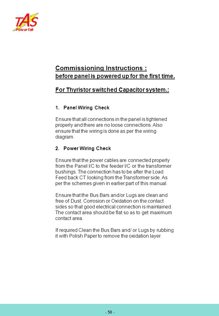 Thyristor switching pf controller ppt download 52 commissioning instructions swarovskicordoba Images