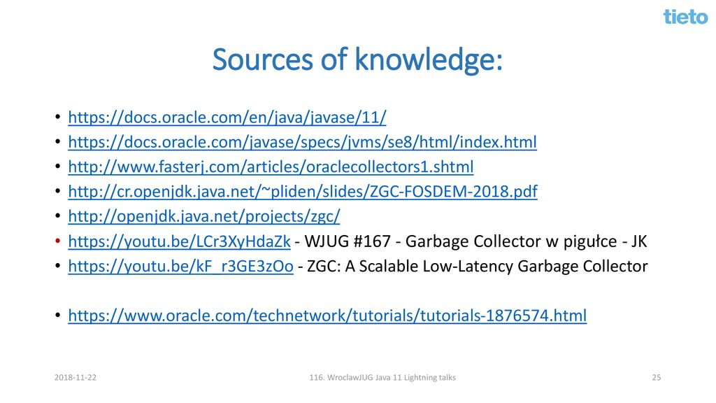 New GC collectors in Java ppt download