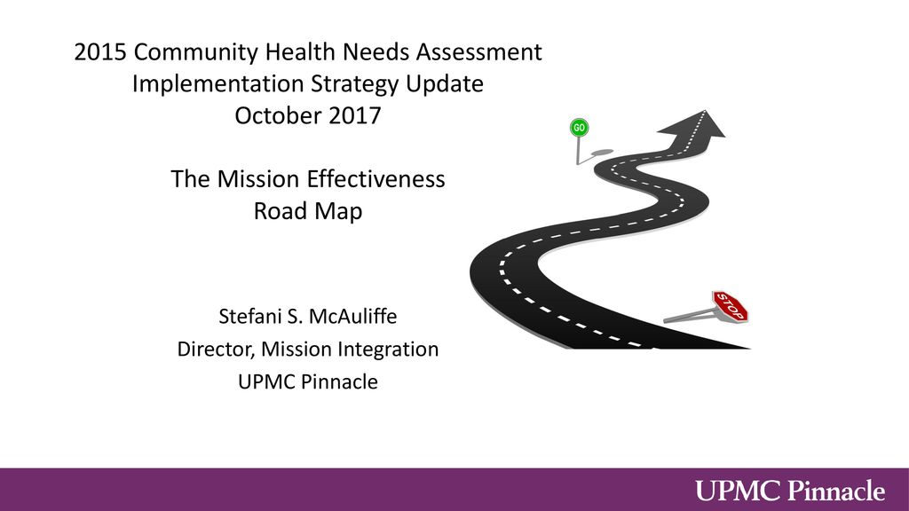 Stefani S  McAuliffe Director, Mission Integration UPMC