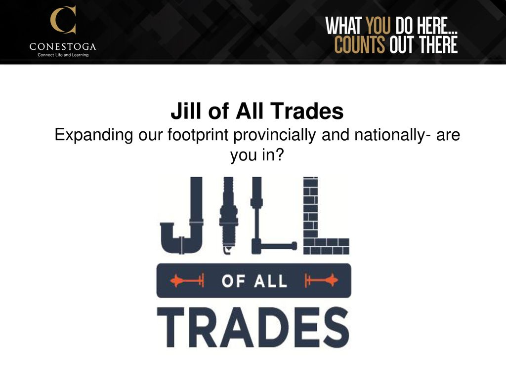 Jill Of All Trades Introductions Ppt Download