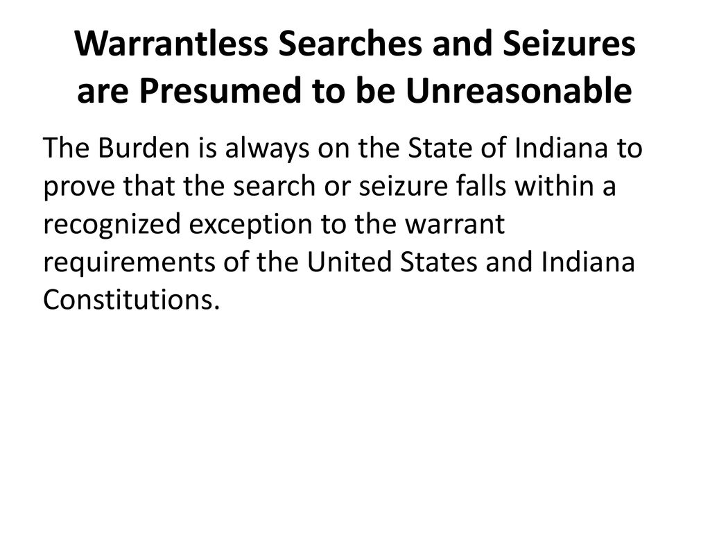 LEGAL UPDATE 2018 SEARCH AND SEIZURE - ppt download