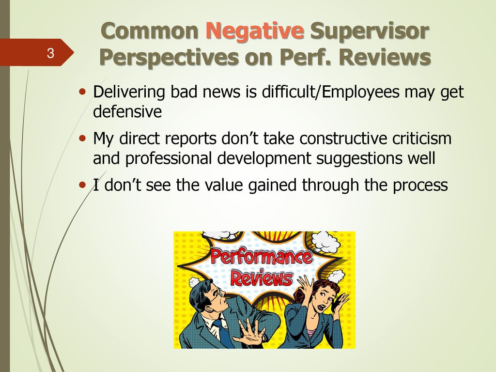 DISCUSSION TOPICS Common Supervisor and Employee