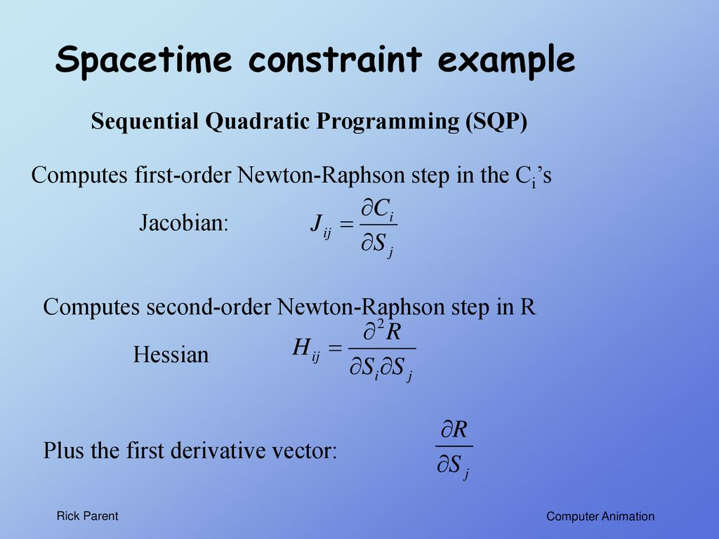 Quadratic programming r