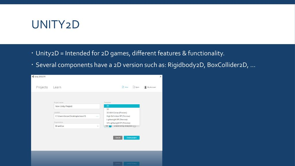 Unity Game Development - ppt download