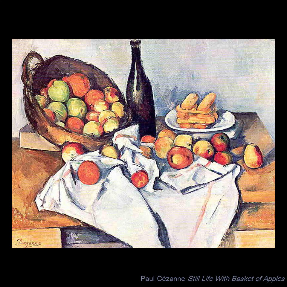 Paul Cézanne Still Life With Basket of Apples