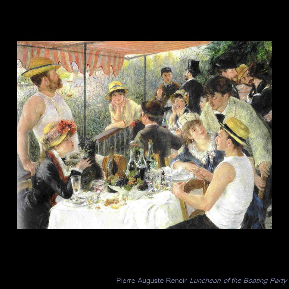 Pierre Auguste Renoir Luncheon of the Boating Party