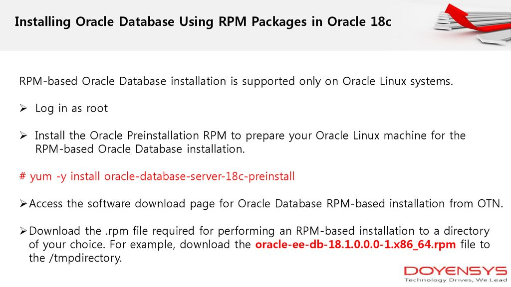Oracle Database 18c New Features - ppt download