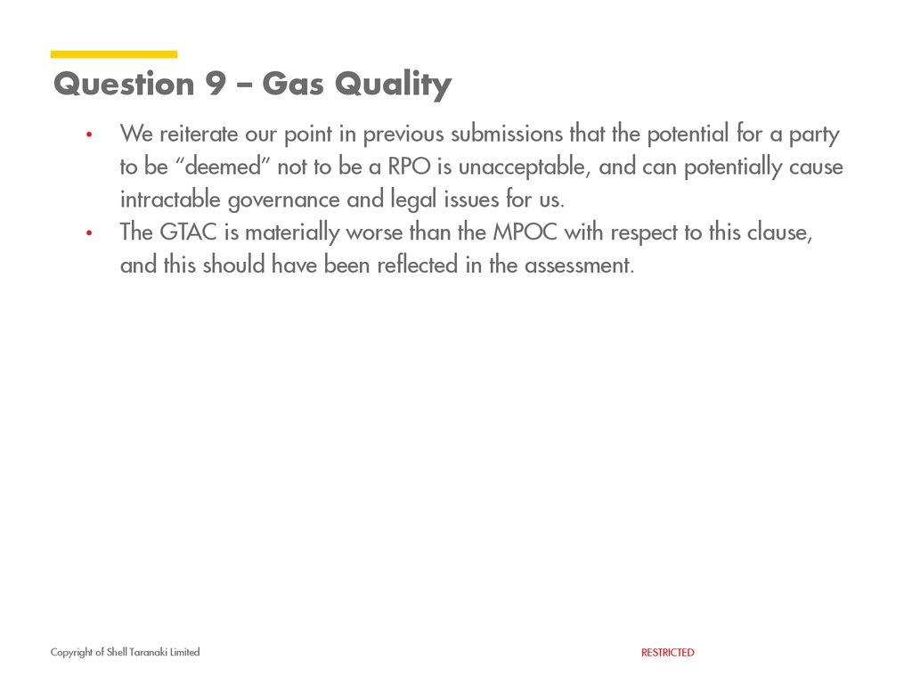 GTAC – submission on GIC Assessment - ppt download