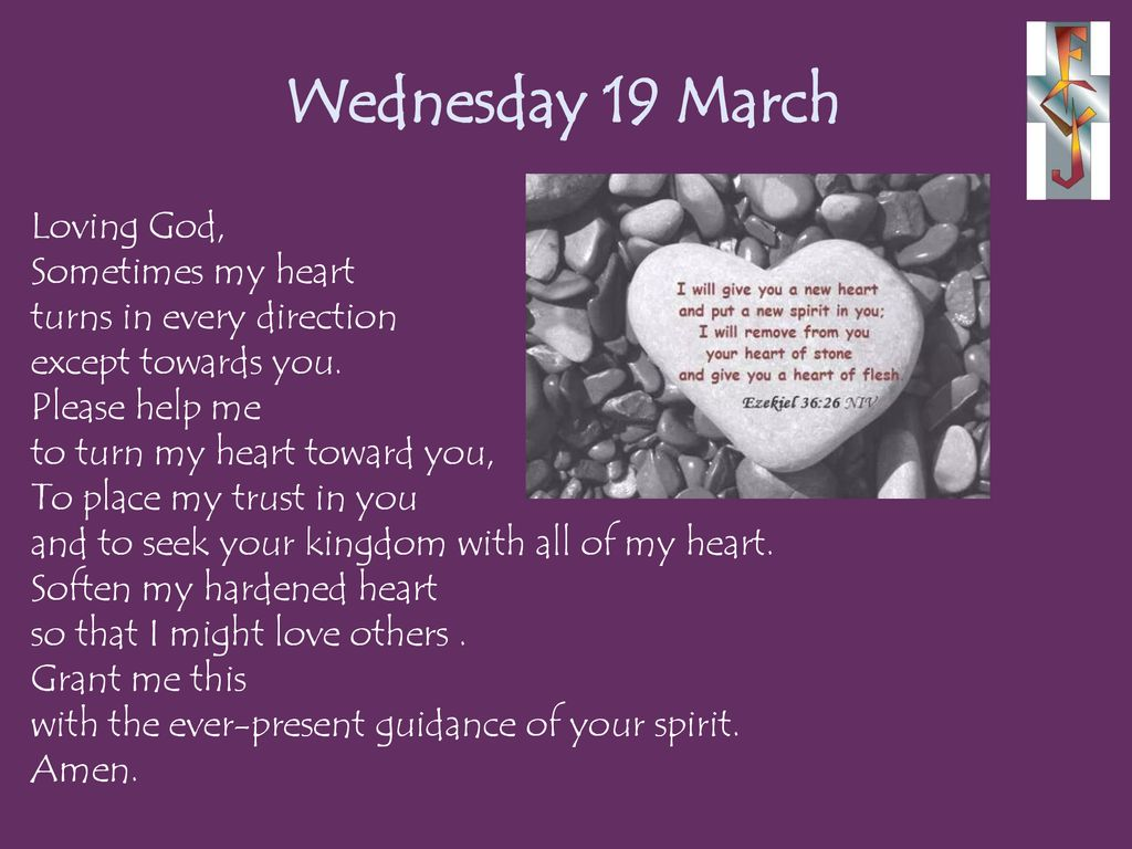 Prayers for the week March ppt download