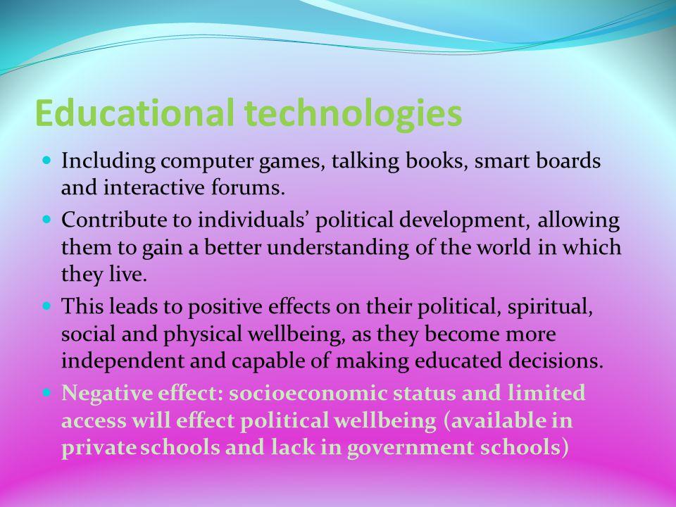 negative impact of technology on education