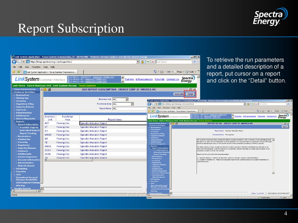 Report Subscription  - ppt download