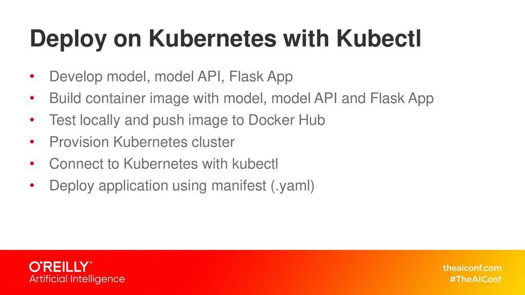 Deploying Deep Learning Models on GPU Enabled Kubernetes Cluster