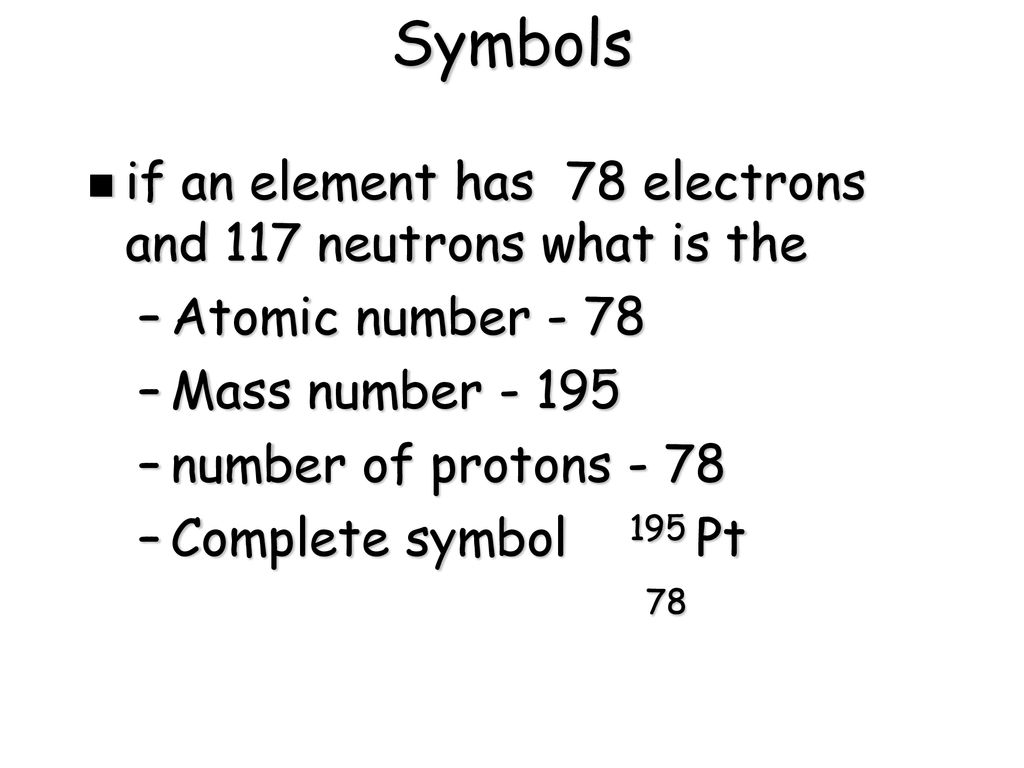 Atomic Number and Mass Number - ppt download