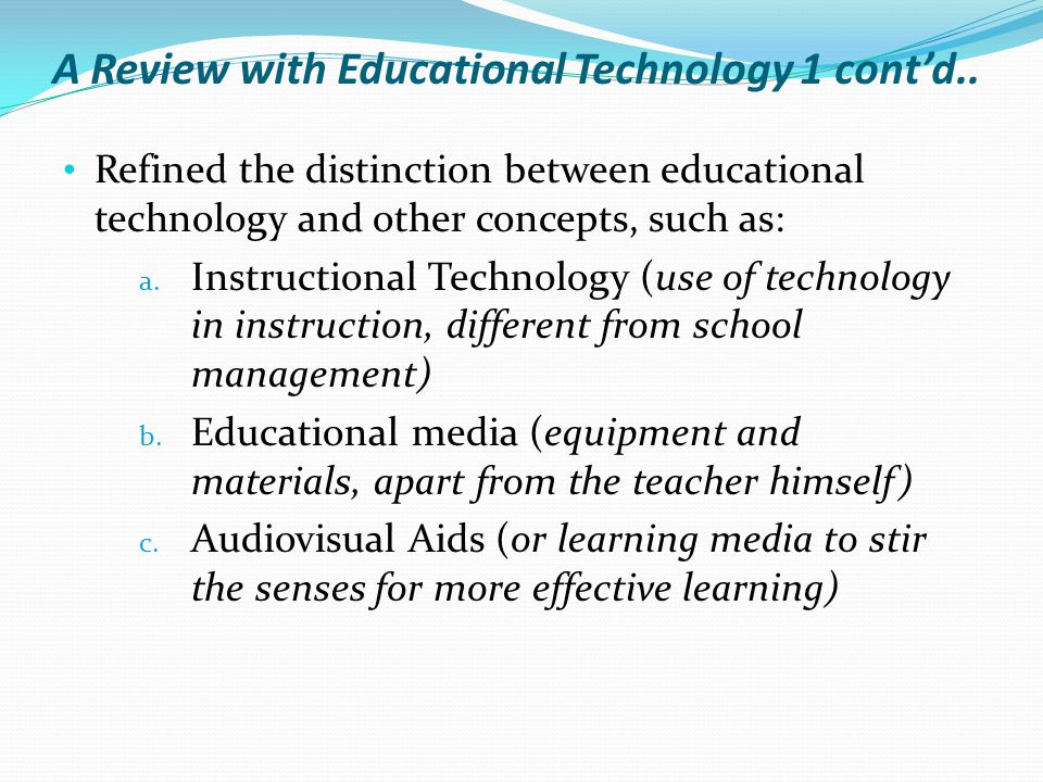 Educational Technology 2 Ppt Video Online Download