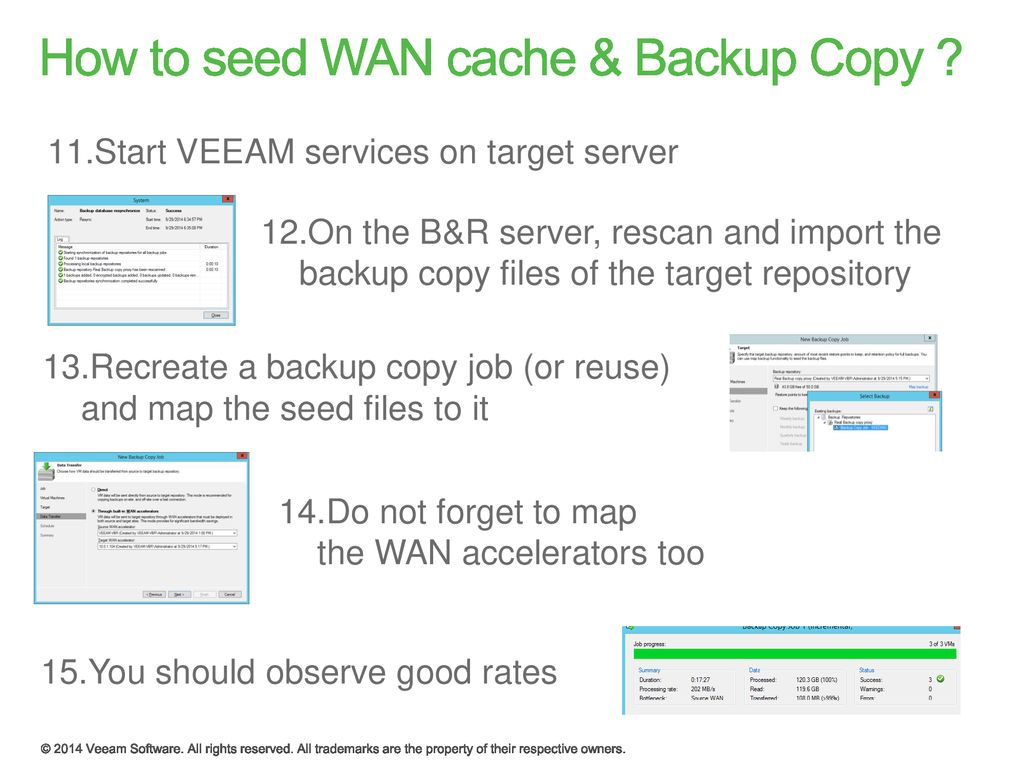 Quick Tips #1 – Wan accelerator seeding for backup jobs - ppt download