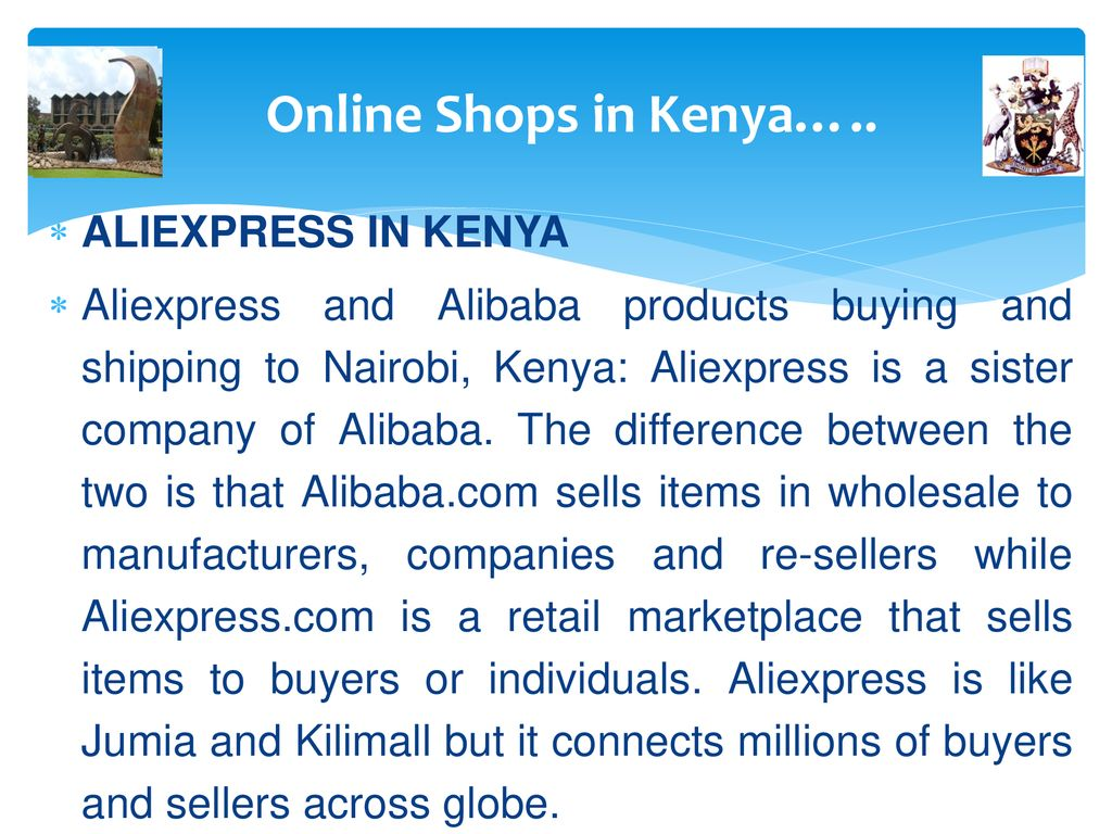 ECOMMERCE and DIGITIZATION OF THE KENYAN ECONOMY - ppt download